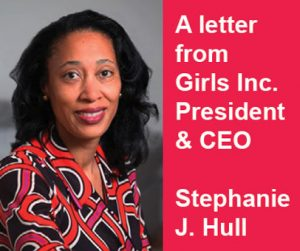 Letter from Girls Inc. President & CEO image