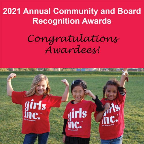 2021 Annual Community and Board Recognition Awards