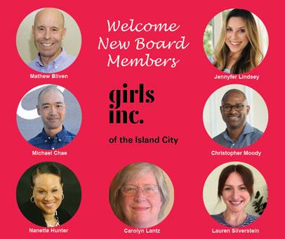 New 2021 Board Members